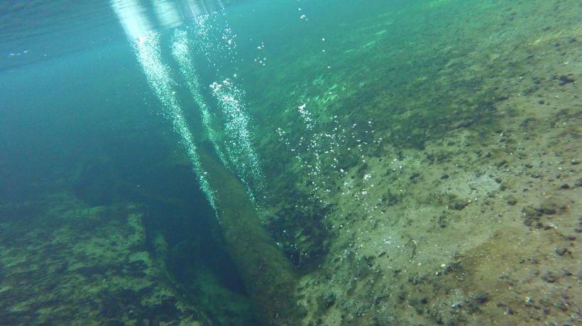 divers' bubbles
