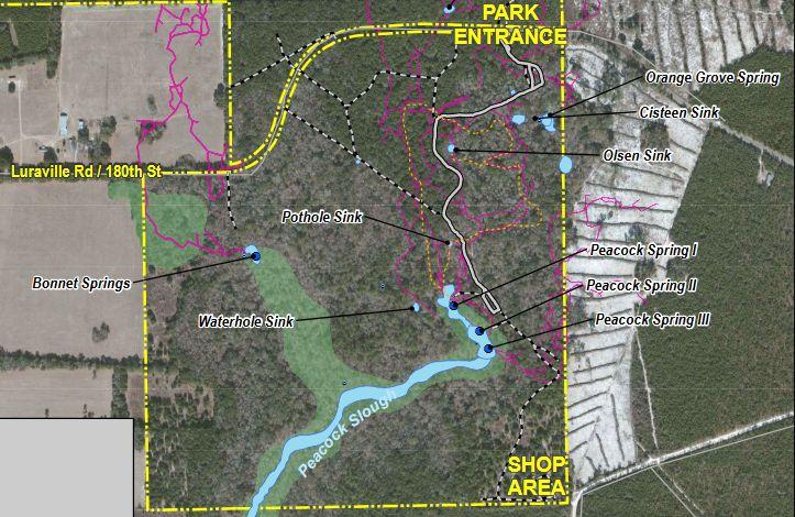 park map closeup
